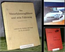 Automobilia, Motorrad, Motorsport Sammlung erstellt von Antiquariat Heinz Ballmert