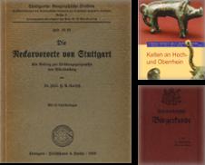 Baden-Württemberg Sammlung erstellt von Antiquariat Held