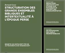 BZAW Sammlung erstellt von Antiquarius / Antiquariat Hackelbusch