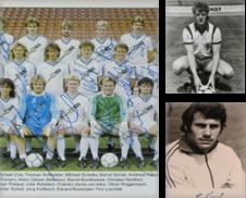 Autogrammkarten Fußball Sammlung erstellt von Versandantiquariat Höbald