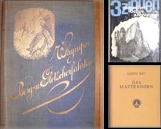 Berge (Alpinismus) Sammlung erstellt von Antiquariat  Silvia Forster