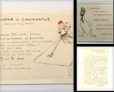Autographes, vieux papiers, manuscrits Curated by Librairie L'amour qui bouquine