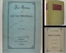 Alpinismus Sammlung erstellt von Antiquariat Johannes Müller