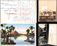 Ansichtskarten Afrika Sammlung erstellt von Versandhandel Lehenbauer