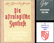 Astrologie Sammlung erstellt von Alzheimer Bücherwald Projekt