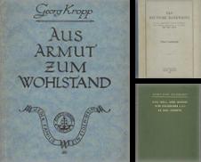 Wirtschaft Bankwesen Sammlung erstellt von Antiquariat Hohmann