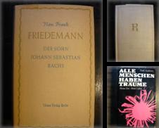 Biographien Sammlung erstellt von Versandantiquariat  Wenzel