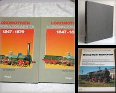 3100 Dampflokomotiven allgemein Sammlung erstellt von Antiquariat Dr. Christian Broy