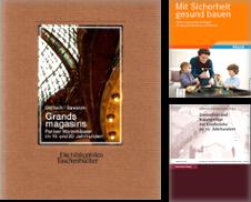 Architektur-Bautechnik Sammlung erstellt von Antiquariat Roland Mayrhans