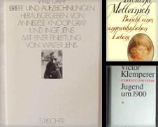 Biographien Sammlung erstellt von Antiquariat Im Baldreit