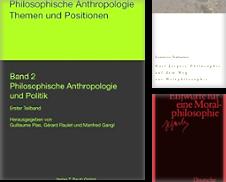100 Philosophie Sammlung erstellt von Antiquariat Bücherwurm