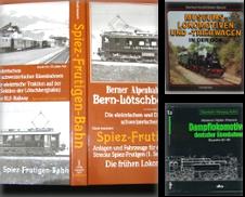 3001 Fahrzeugbestände einzelner Bahnen Sammlung erstellt von Antiquariat Dr. Christian Broy