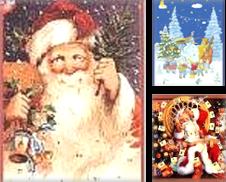 Advents- & Weihnachtskalender Sammlung erstellt von Versandantiquariat Felix Mücke