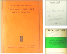 Signierte Bücher Curated by Rotes Antiquariat