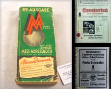 Adressbücher Sammlung erstellt von Antiquariat Bebuquin (Alexander Zimmeck)