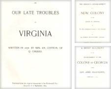 American Colonial Tracts Monthly Curated by Cosmo Books