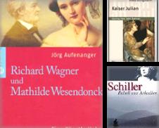 Biographie Sammlung erstellt von Antiquarius / Antiquariat Hackelbusch