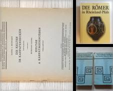 Archäologie Sammlung erstellt von Gebrauchtbücherlogistik  H.J. Lauterbach