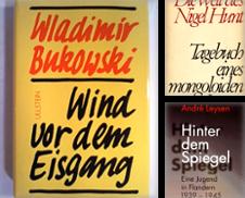Autobiographie Sammlung erstellt von BBB-Internetbuchantiquariat