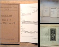 Bavarica Sammlung erstellt von Cassiodor Antiquariat
