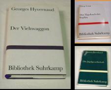 Bibliothek Suhrkamp Sammlung erstellt von TausendundeinBuch Antiquariat
