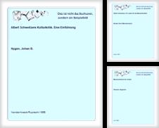 Albert Schweitzer Sammlung erstellt von CeBuch