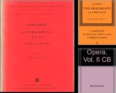 Altertumswissenschaften Sammlung erstellt von Antiquariat Dr. Götzhaber