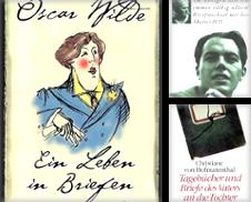 Biografien, Briefe Sammlung erstellt von Peter Leissle Versandantiquariat