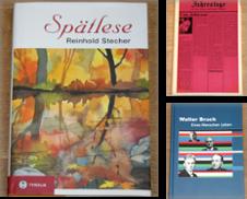 Biographien Sammlung erstellt von Antiquariat Gallenberger