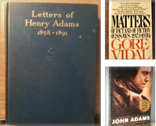 Adams Family (John/JQA/Charles Francis Sr & Jr/Henry) Curated by Berthoff Books