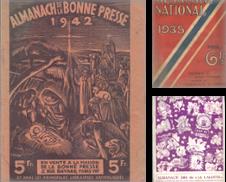 Almanachs Sammlung erstellt von Librairie et cætera (et caetera)