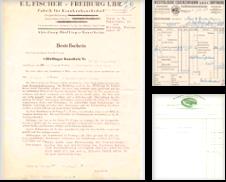 Hist Rechnungen Sammlung erstellt von Martina Berg (Die Bücher-Berg)