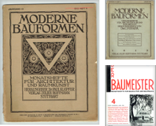 Architektur Bauwesen Sammlung erstellt von Antiquariat Hardner