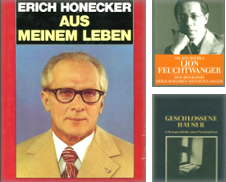 Biografisches A (Z) Sammlung erstellt von Anti-Quariat (Inh. Udo Koch)
