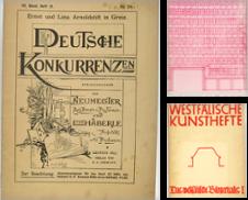 Architektur Sammlung erstellt von Antiquariat Richart Kulbach
